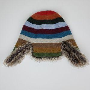 Gap Kids | Colorful Trapper Hat, Size L/XL